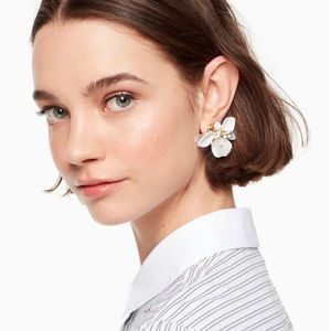 kate spade Jewelry - Kate Spade Vibrant Life Leather Statement earrings